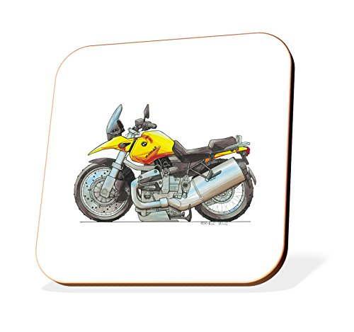 K1269-CST Koolart Gifts Cartoon BMW R1150GS Motorcycle for sale  Delivered anywhere in UK