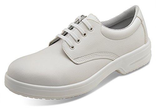Micro Fibre De Chaussures De Sécurité–b-click Chaussures Blanc