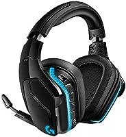 Logitech G935 Wireless RGB Gaming-Headset, 7.1 Surround Sound, DTS Headphone:X 2.0, 50 mm Treiber, 2.4 GHz Kabellos,...