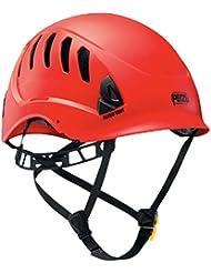Petzl Helme Alveo Vent - Casco de escalada, color rojo, talla 53 - 63