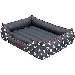 Hobbydog Cama para perro resistente de tela Cordura, XL, color gris