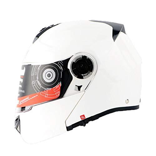 Classic Outdoor Modular Motorradhelm Double Lens Anti Crash Downhill Mountainbike Motocross Schutzkappen Jahreszeiten Universal Flip Up Racing Helme - E2-schaum