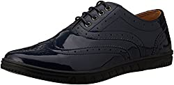 Carlton London Mens Noah Navy Formal Shoes - 7 UK/India (41 EU)