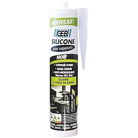 Plan Vasque Verre - GEB 890710 Mastic silicone pour joint sur