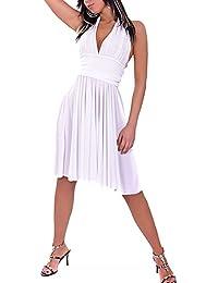 Toocool - Abito scollato danza Marilyn ballo tango latino moda vestito  miniabito KLL9 0cbc4116879