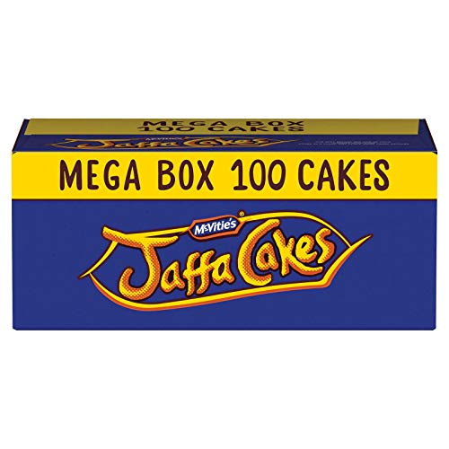 McVitie's Jaffa Cakes 100 Cakes Mega Box - 5 x Twin Pack Carton with 20 Cakes