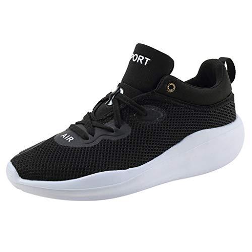 Herren Sneaker, ODRD Schuhe Paar Atmungsaktives Mesh hohe Elastische Turnschuhe Volltonfarbe Plattform Freizeitschuhe Stiefel Stiefeletten Wanderstiefel Combat Hallenschuhe Worker Laufschuhe Sports