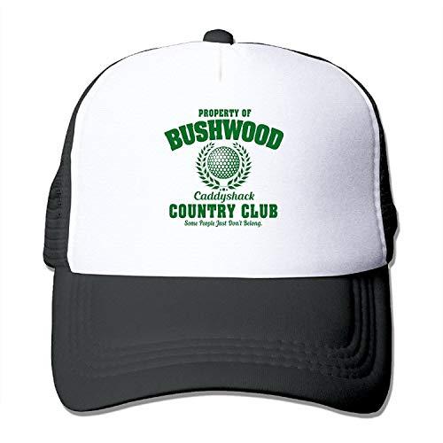 uykjuykj Bushwood Country Club Caddyshack Trucker Mesh Hat Caps Adjustable Unique Personality Cap ()