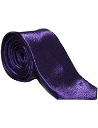 "8 x Cadbury's Purple 2"" Men's Slim Satin Ties"