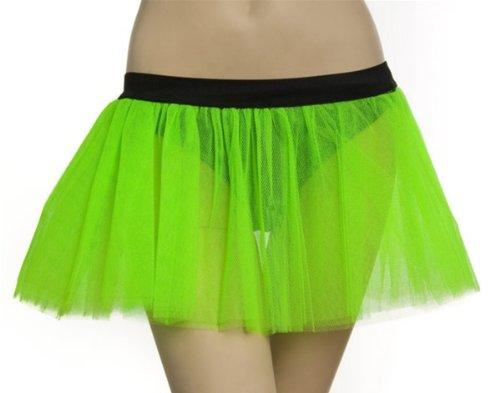 Grünen Tutus - Party, Fancy Kleid, RAVE 3Ebene Fluo