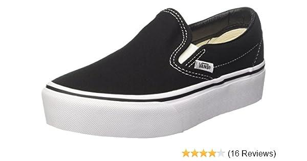 8f5254990901 Vans Women's Classic Slip-on Platform Slip On Trainers: Amazon.co.uk ...