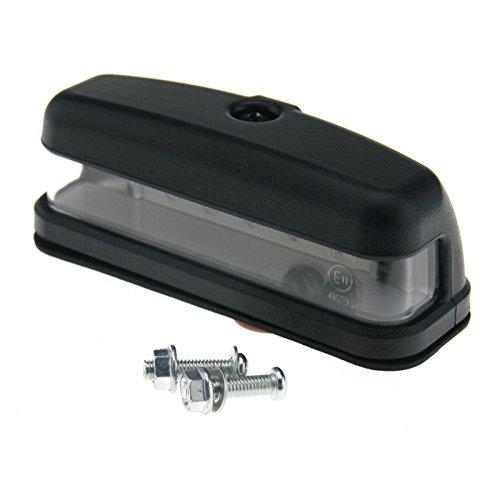 Preisvergleich Produktbild 12V LED Kennzeichenbeleuchtung Nummernschildbeleuchtung E-Mark PRC72556 F¨¹r Land Rover Defender