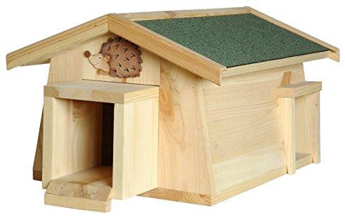 Luxus Insektenhotels 22216e Casa per Riccio Mecki con 2 ingressi/Chiusure Protezione dai Gatti
