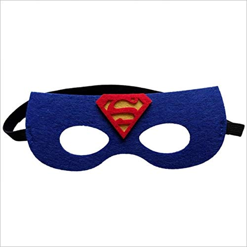 QINGT Maske Superheld Cosplay Superman Batman Spiderman Thor Ironman Kinder Party Kostüme Masken Niedlichen AugenSchmücken Phantasie Requisiten MaskeradeSuperman