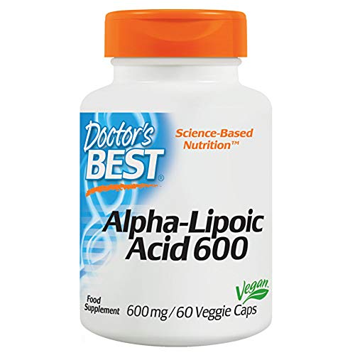 Doctor's Best, Best Alpha-Liponsäure, 600 mg, 60 Veggie Caps