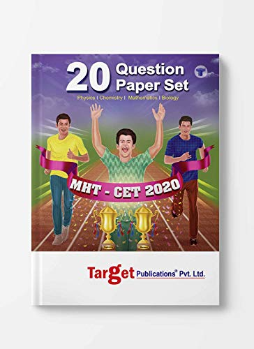 MHT-CET 20 Question Paper Set Book | Pharmacy and Engineering Entrance Exam Solved Papers 2020