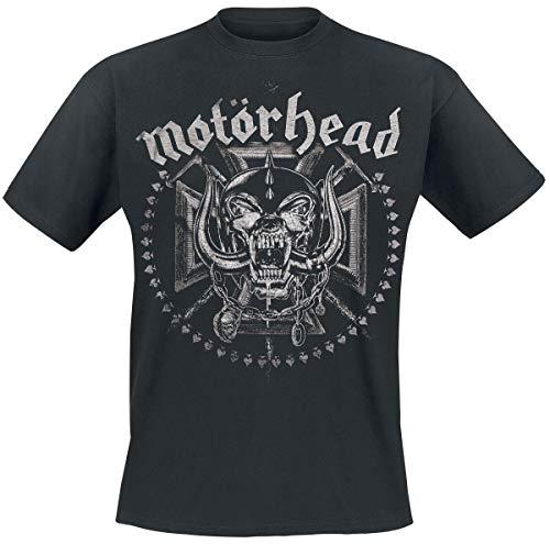 Motörhead Iron Cross Swords Camiseta Negro XXL