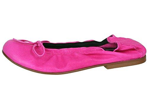 clic! CL- 4278 DE Mädchen Ballerinas mit Schleife Pink (Fuxia)