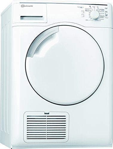 Bauknecht TK Care 814 Wärmepumpentrockner / A+++ / kWh / 8 kg / Trocknet besonders sparsam / Startzeitvorwahl / weiß