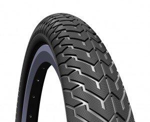 Mitas BMX-Reifen 'Zirra F V 94 Classic 22', 20x2.25' 57-406, schwarz (1 Stück) (Flatland-bmx Bikes)