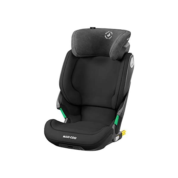 Maxi-Cosi Kore i-Size Child Car Seat, 3.5 - 12 years, 100 - 150 cm, Authentic Black Maxi-Cosi Child car seat, suitable to use from 3.5 to 12 years (approx from 100 cm to 150 cm) ISOFIX installation is possible with this group 2/3 car seat for optimal stability Quick and easy to buckle up: This ISOFIX car seat is designed to enable children to get in and out and buckle up on their own in a few seconds 1