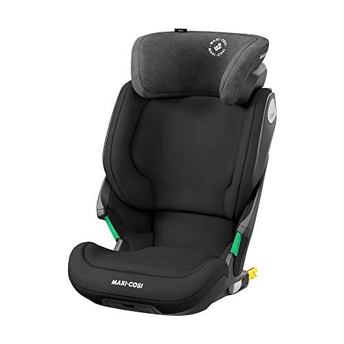 Maxi-Cosi Kore i-Size Kinderautositz mit Isofix, mitwachsender Gruppe 2/3 Autositz mit max. Seitenaufprallschutz, authentic black (schwarz) 15-36 kg