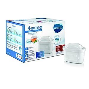Brita 1023124 Filterkartuschen, Maxtra+ 4er Pack, weiß