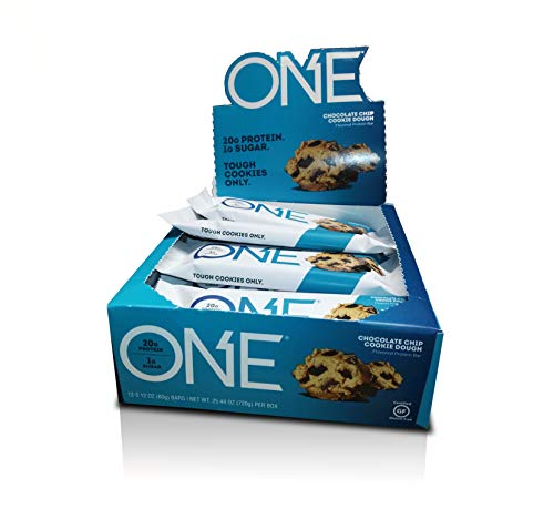 ONE Bar Chocolate Chip Cookie Dough 12 Count OhYeah!-9a by OhYeah! Nutrition