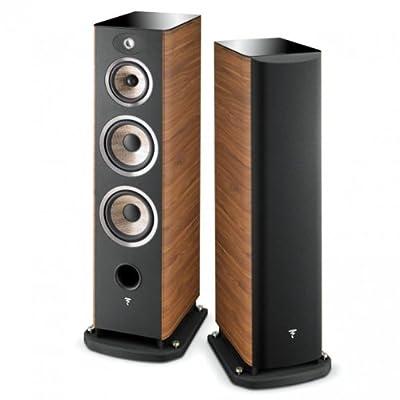 """Focal Aria 948 Walnut loudspeaker - loudspeakers (Speaker set unit, 3-way, Floor, Closed, 2.54 cm (1""""), 16.5 cm (6.5"""")) al miglior prezzo da Polaris Audio Hi Fi"""