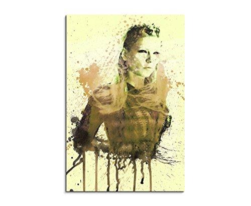 Paul Sinus Art Wandbild, Leinwand, Mehrfarbig, 90x50x3 cm