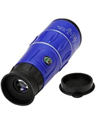telescope monoculaire - TOOGOO(R) 16 x 52 HD Haute Definition Clair telescope monoculaire Zoom optique pour le sport Camping Voyage Vision nocturne Bleu