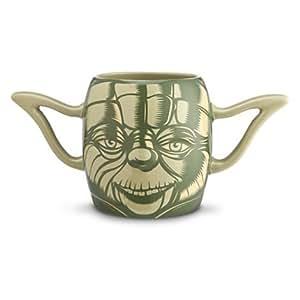Disney Star Wars Yoda Coffee & Tea Mug by Disney Yoda Mug Star Ward
