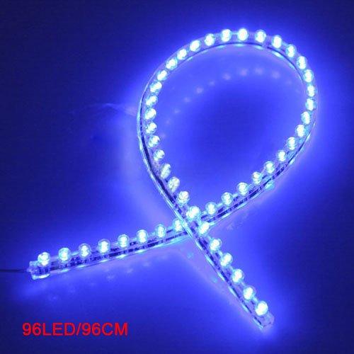 sodialr-96-led-voiture-bande-sous-lumiere-neon-plancher-flexible-etanche-lineaire-bleu