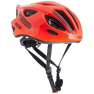 Abus S-Cension Fahrradhelm, Neon Orange, L (58-62 cm)