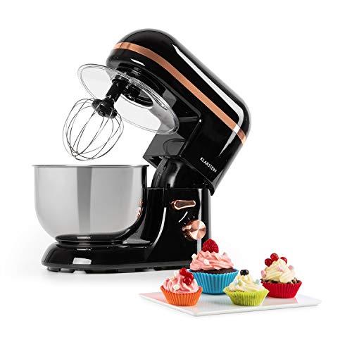 Klarstein Bella Elegance robot de cocina - 1300W/1,7PS en 6 niveles con función pulso, sistema de rotación...