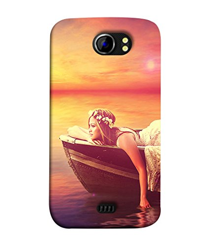 PrintVisa Designer Back Case Cover for Micromax Canvas 2 A110Q :: Micromax A110Q Canvas 2 Plus :: Micromax Canvas 2 A110 (Lovers Couple modern art Designer Case abstract painting Cell Cover Smartphone Cover for wife valentine gift for lovers)  available at amazon for Rs.345