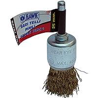 Hawk 10143 Sarı Telli Pimli Kalem Fırça 12 mm