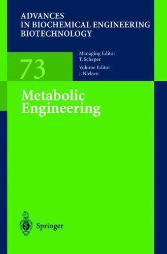 Metabolic Engineering (Advances in Biochemical Engineering/Biotechnology)