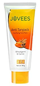 Jovees Wheatgerm & Carrot Anti Tanpack HNF 60 (100gm)