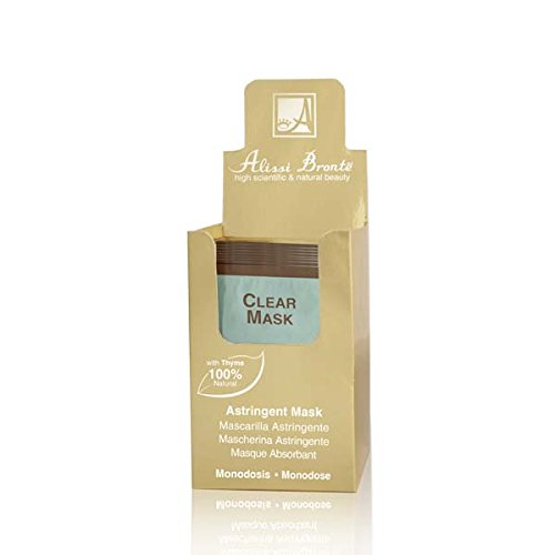 CLEAR Mascarilla Astringente. 20 Monodosis x 5 ml.