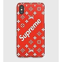 Supreme, coque pour iPhone XS, XS Max, XR, X, 8, 8+, 7, 7+, 6S, 6, 6S+, 6+, 5C, 5, 5S, 5SE, 4S, 4,