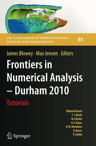 PDF Frontiers in Numerical Analysis - Durham 2010 (Lecture