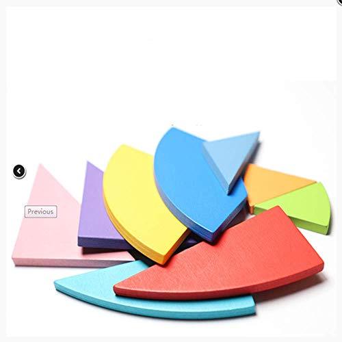 tiskdekbsd Holzpuzzles Kinder Fokus Training Holz Puzzle Kit Klassische Geometrische Form Tangram Eisen Box Kinder Tangram Puzzle Spielzeug Pädagogisches Geschenk - Eisen-box-board