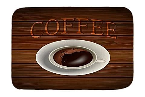 Chien Tapis Lit Publicité Cuisine Tasse à café imprimées 40x60 cm