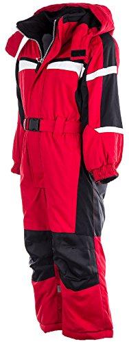 Kinder Skianzug LC1233 Rot 110