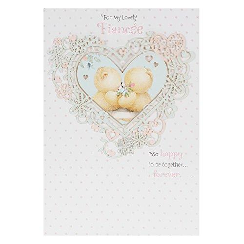 Hallmark Forever Friends Geburtstagskarte für Braut