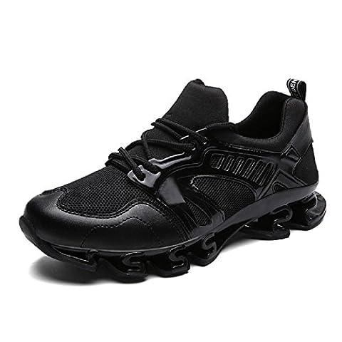 Hommes Chaussures de sport Le nouveau Respirant Augmenté Entraînement Chaussures de course , black , 44