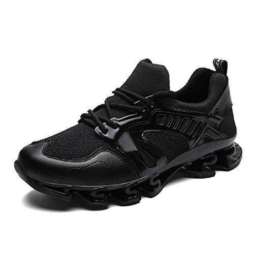 Herren Sportschuhe Das neue Atmungsaktiv Erhöht Ausbildung Laufschuhe Black