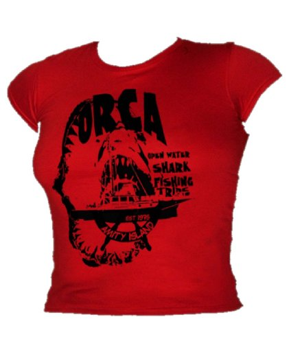 Blue Ray T-Shirts -  T-shirt - Donna Rosso