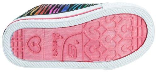 Skechers ShufflesTriple Time 10203N - Sneaker bambina Multicolore (Black/Multi)